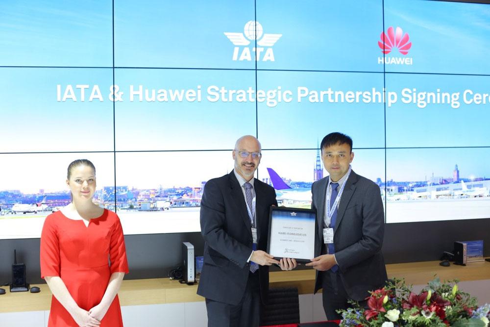หัวเว่ย เข้าร่วมโครงการหุ้นส่วนยุทธศาสตร์ของ IATA