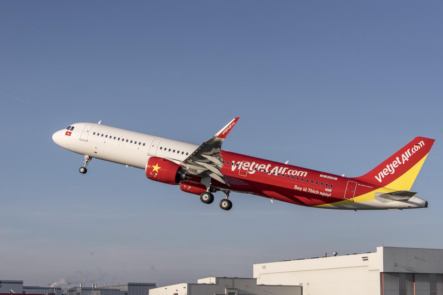 'ไทยเวียตเจ็ท' รุกหนัก เพิ่มฝูงบินใหม่ A321 รับดีมานต์โตต่อเนื่อง-จ่อเปิดเส้นทางบินเพิ่มไฮซีซั่น 61