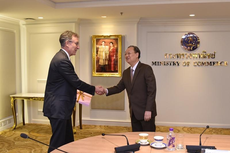 นักธุรกิจ EU เชื่อมั่นนโยบายการค้า-การลงทุนไทย