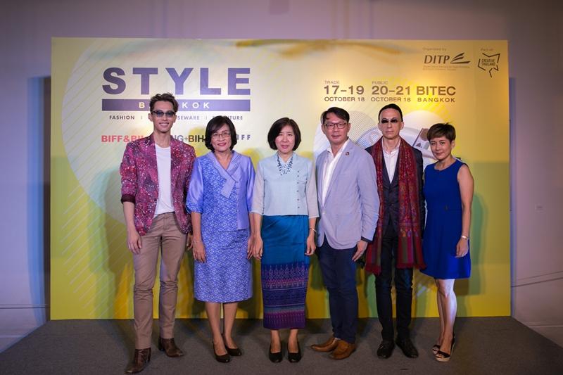 DITP พร้อมจัด STYLE Bangkok ประกาศศักยภาพความเป็นผู้นำด้านไลฟ์สไตล์ของเอเชีย