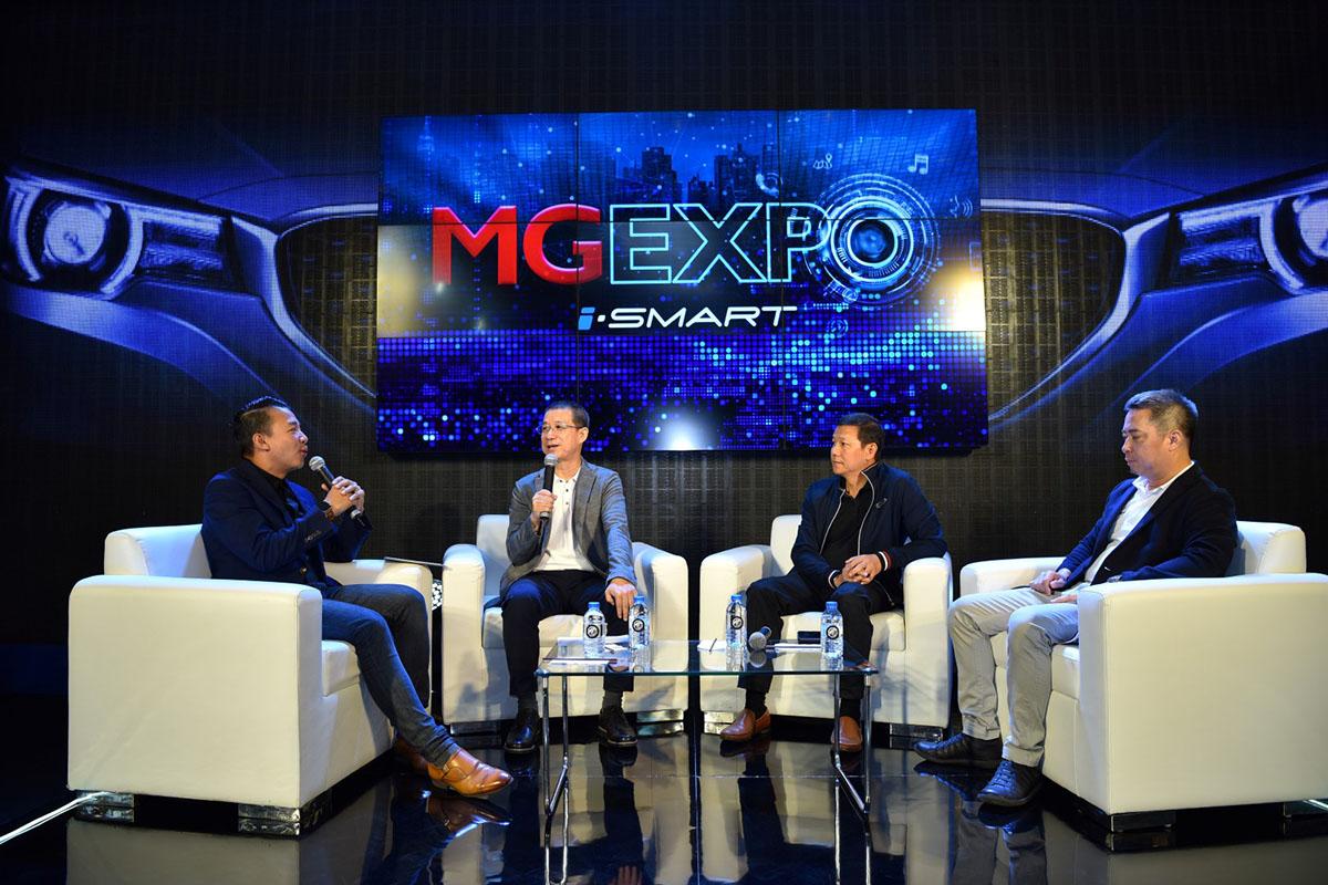 เอ็มจีโชว์นวัตกรรมยานยนต์อัจฉริยะแห่งอนาคตที่สัมผัสได้แล้ววันนี้ที่งาน MG Expo 2018