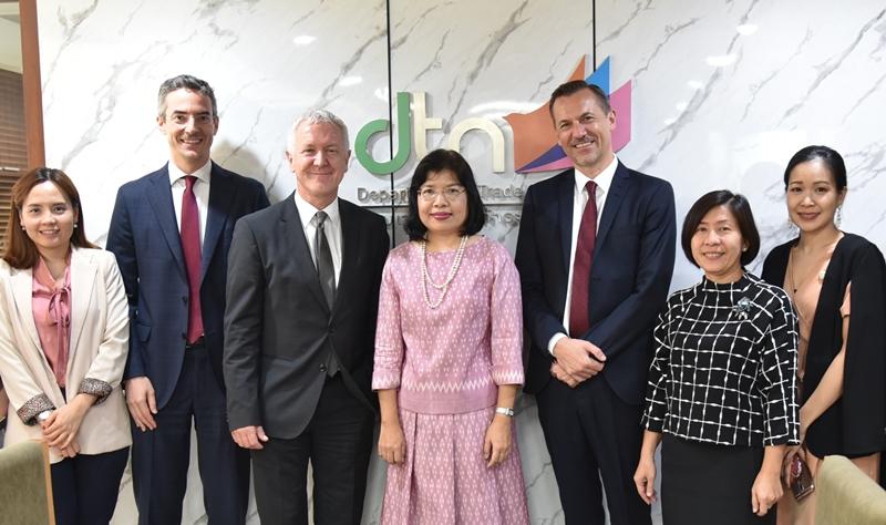 กรมเจรจาการค้าฯ เผยสวิสจับมือนอร์เวย์ชวนไทยกระชับความสัมพันธ์ไทยกับ EFTA