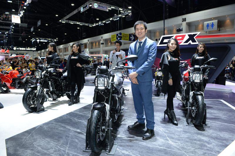 GPX จัดหนัก! เปิดตัวรถใหม่ 3 รุ่น ถล่มงาน Motor Expo 2018