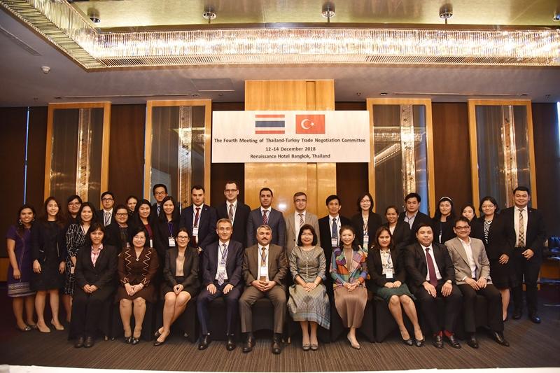 เผยความคืบหน้าการเจรจา FTA ไทย – ตุรกี เตรียมแลกเปลี่ยนข้อเสนอเปิดตลาดต้นปีหน้า