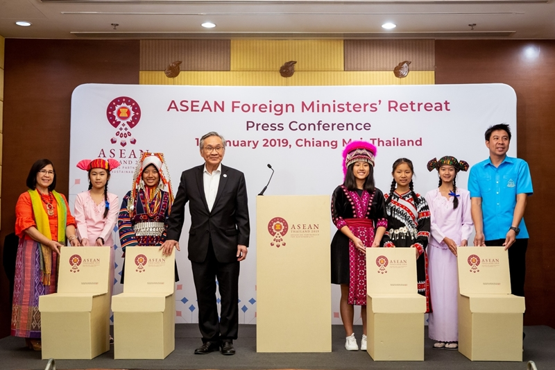 เอสซีจี ชูผลิตภัณฑ์จากกระดาษรีไซเคิล สู่การประชุม ASEAN SUMMIT 2019 ที่เชียงใหม่