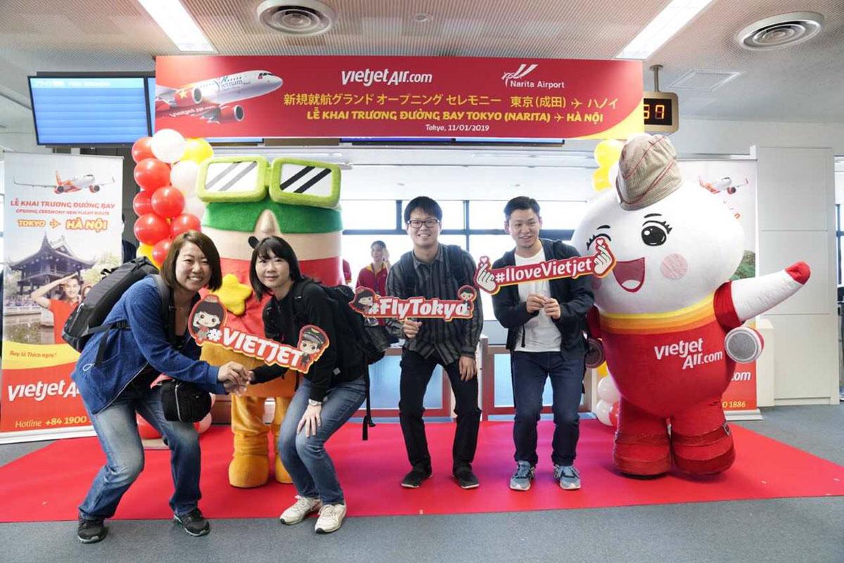 'เวียตเจ็ท' รุกหนักตลาดปลาดิบ ลุยเปิดบิน 'ฮานอย-โตเกียว'