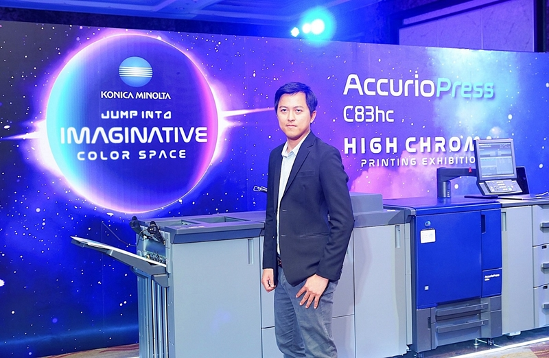 โคนิก้า มินอลต้า เปิดตัวแท่นพิมพ์ดิจิทัล  High Chroma รุ่น AccurioPress C83HC รองรับงานพิมพ์คุณภาพสูง