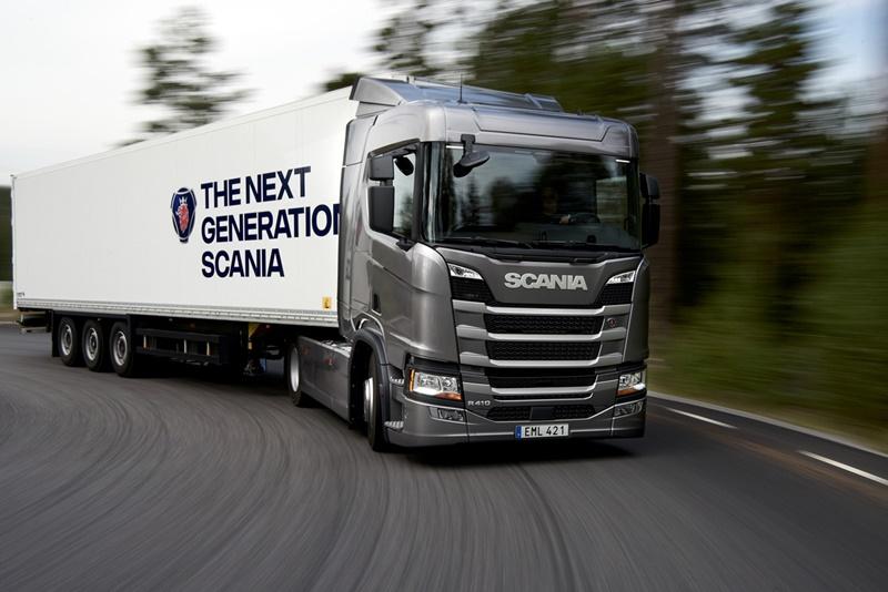 """""""สแกนเนีย"""" ทุ่มทุน 800 ล้านเปิดโรงงานแห่งใหม่ในไทย พร้อมเผยโฉมรถบรรทุกใหม่เอี่ยมสุดตระการตา"""