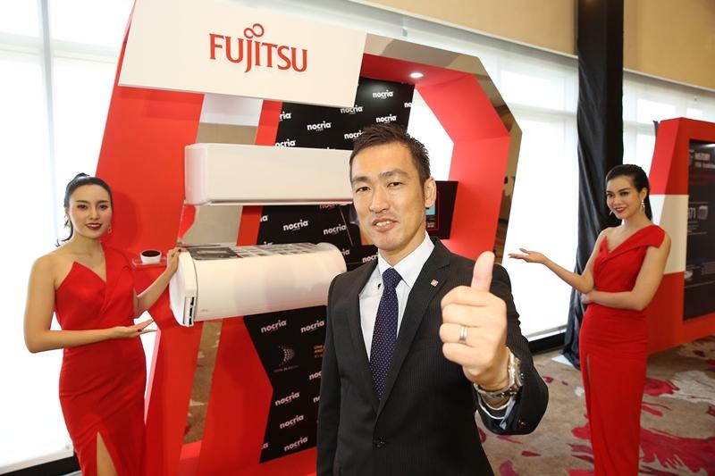 """""""ฟูจิตสึ"""" เผยโฉมนวัตกรรมเครื่องปรับอากาศตอบโจทย์ยุคไอที มั่นใจอนาคตได้มาร์เก็ตแชร์ 5% ในไทย!"""