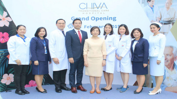 เปิดตัว โรงพยาบาลชีวา ทรานสิชั่นนัล แคร์ ดูแลสุขภาพหลังภาวะวิกฤต