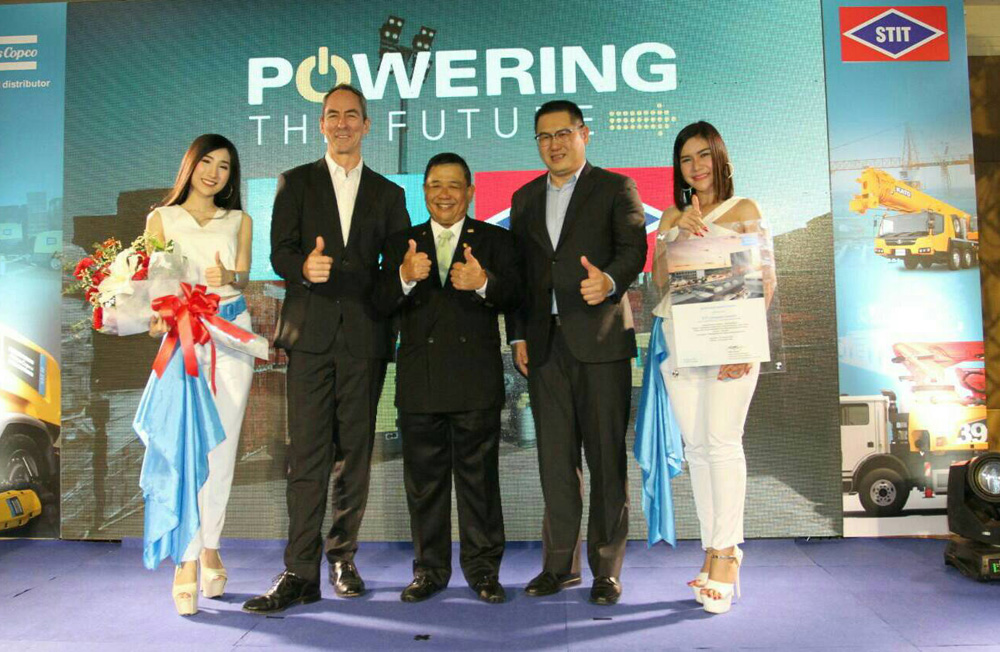 Atlas Copco Thailand ร่วมกับ STIT จัดแคมเปญ Powering The Future