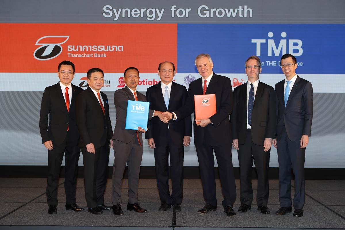 'TMB' ปิดดีลควบรวม 'TBANK'  มุ่งยกระดับบริการขยายฐานลูกค้าสู่ 10 ล้านคน