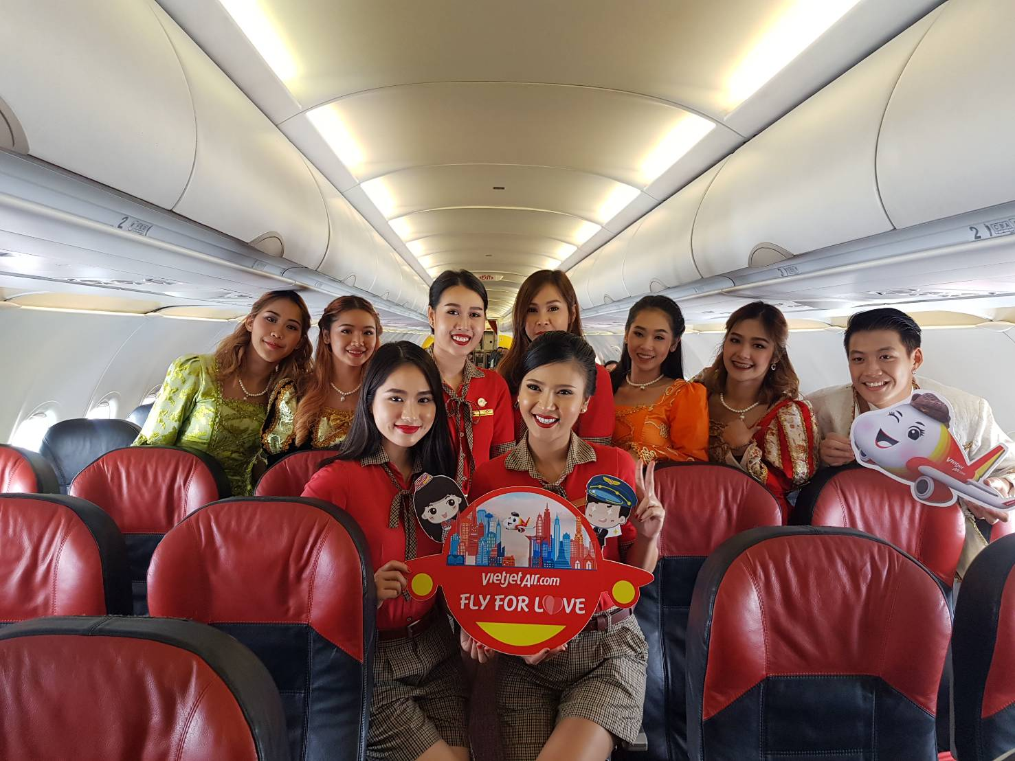 'ไทยเวียตเจ็ท' ผุดแคมเปญ 'เวียตเจ็ท ซัมเมอร์พาเหรด – Fly For Love – สนุกกับหน้าร้อนในแบบคุณ'