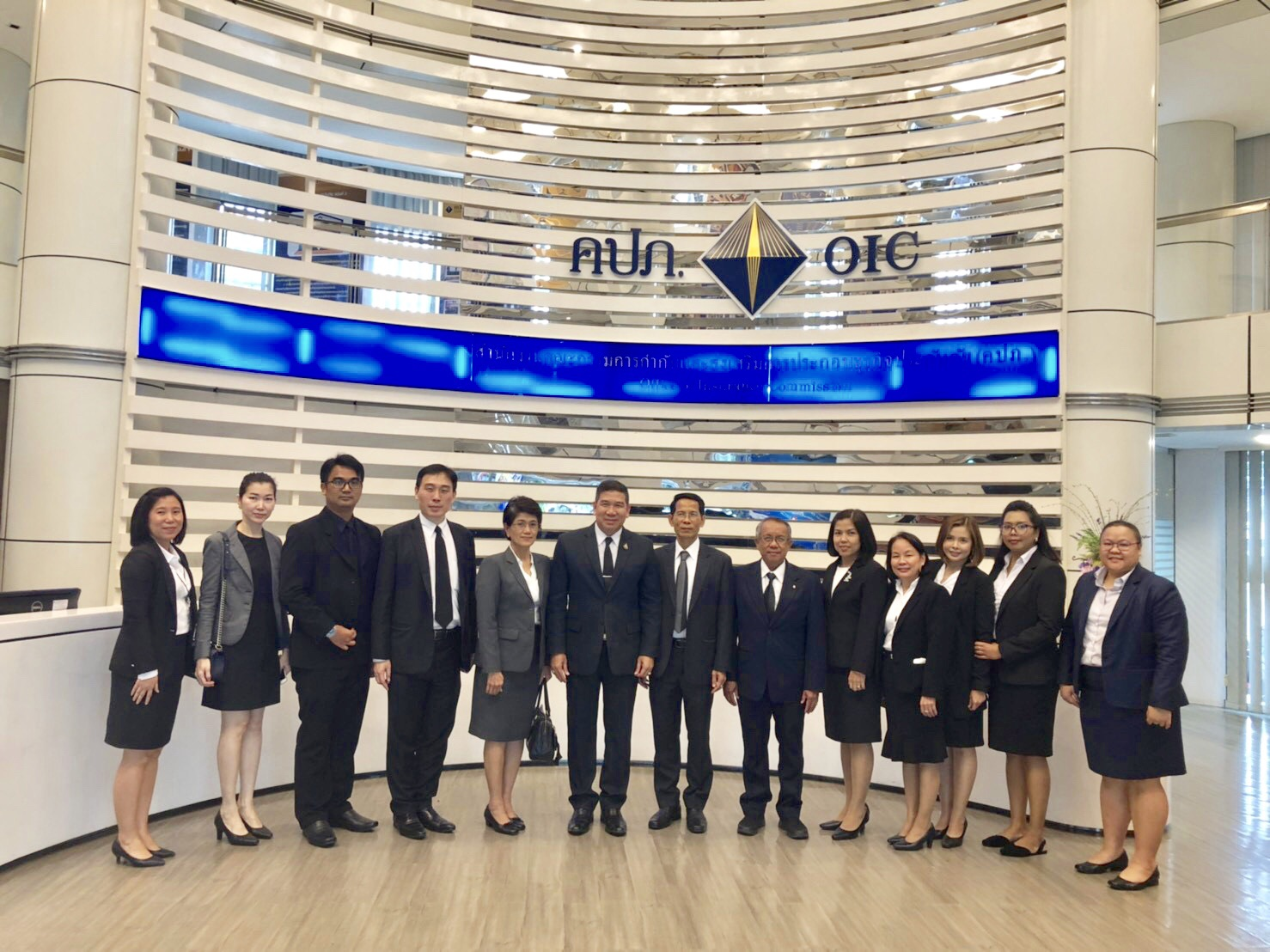 คปภ.ให้การต้อนรับ Thailand Arbitration Center : THAC เข้าเยี่ยมชมและศึกษาดูงาน สำนักงาน คปภ.