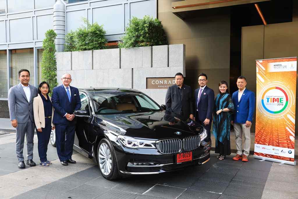 บีเอ็มดับเบิลยู ประเทศไทย ร่วมสนับสนุนงาน TIME 2019 บริการรถรับส่งระดับพรีเมียม