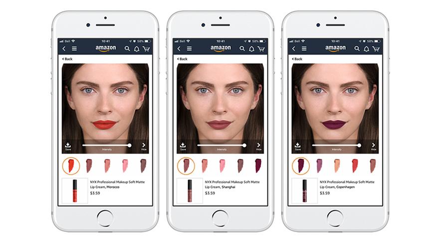 ลอรีอัล ส่ง ModiFace เทคโนโลยี AI ทดลองลุคแต่งหน้าแบบเสมือนจริงใน Amazon
