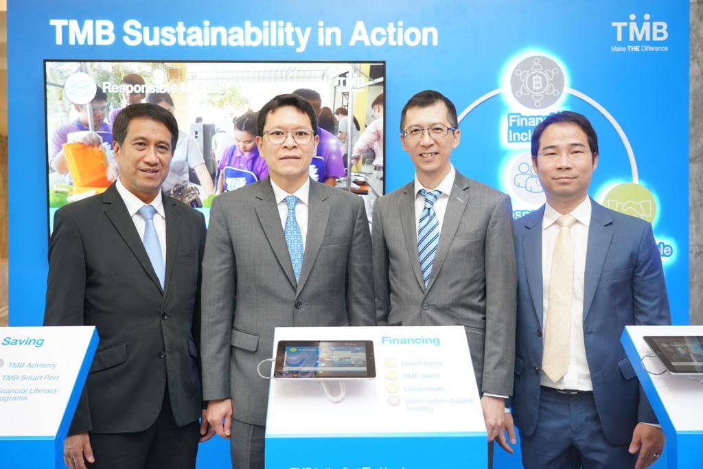 ทีเอ็มบี ร่วมแสดงกรอบการดำเนินธุรกิจอย่างยั่งยืน  ในงาน Bangkok Sustainable Banking Forum 2019