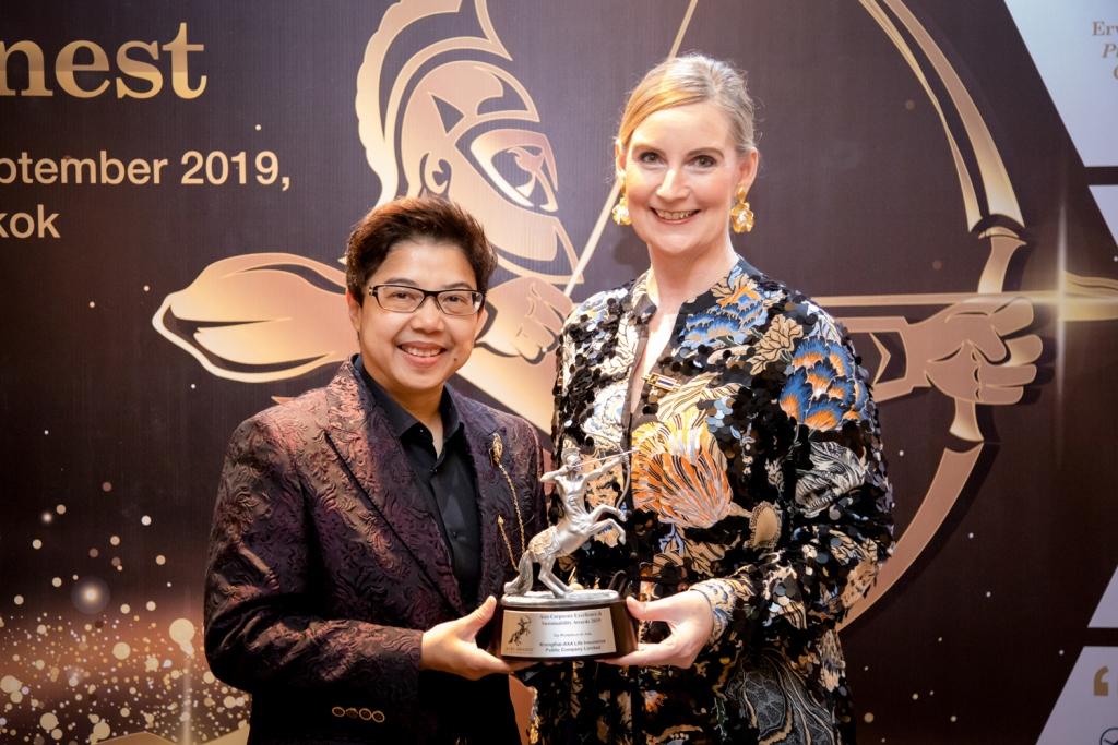 กรุงไทย-แอกซ่า ประกันชีวิต รับรางวัลระดับนานาชาติ  ACES Awards 2019 สาขา The Best Work Place